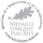 Médaille Argent Paris 2015